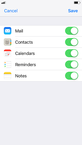 setup mdaemon email server account on apple iphone or ios device