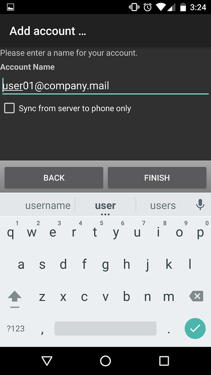 sync mdaemon contacts to an android device via CardDAV